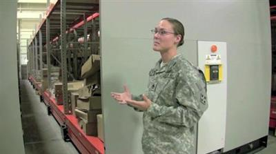 ActivRAC Mobilized Storage in Military