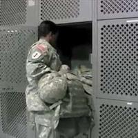 War Bag Locker Storage