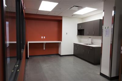 University of Alberta kitchen area