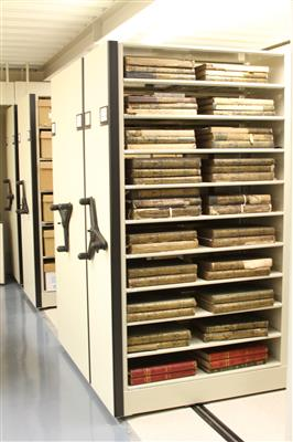 Archival book preservation solution on mechanical mobile assist