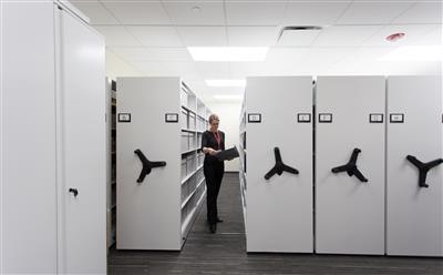 Easy archive retrieval at Harper College