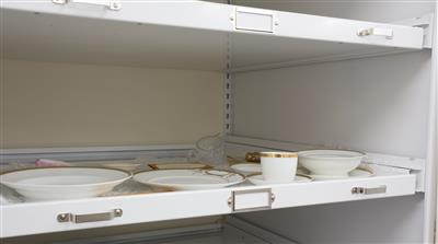 Archival storage on drawers
