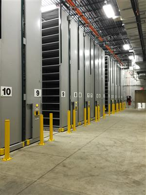 High-Bay Archival Storage System at the University of Wisconsin-Madison