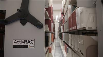 Storage Solutions that make collections retrievable at Gettysburg college