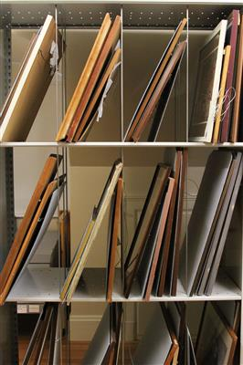 Blithewold Mansion Custom Archive Shelving