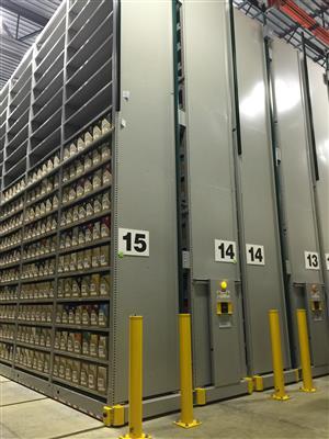 Library Archive Storage at Verona Shelving Facility