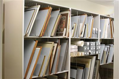 Blithewold Mansion Archive Shelving