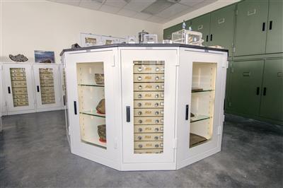 Meteorite Storage in Geology Cabinets, Arizona State University
