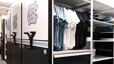 Athletic Storage by Spacesaver A Winning Solution