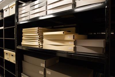 Compact shelving at Clayton State University