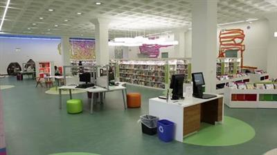 High-Density Mobile Shelving System Installed in Newly Renovated Madison Central Library