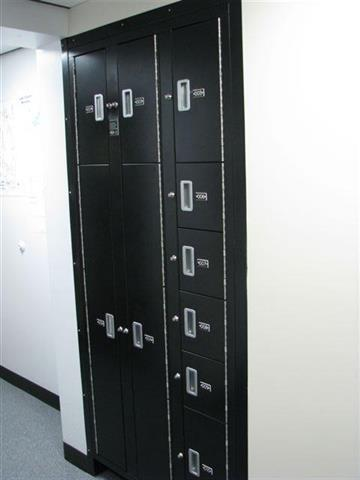 Evidence Lockers Built In Wall Donnegan Systems Dsi