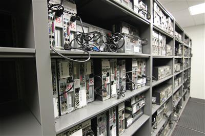 Electronics Evidence Storage at the Durham County Courthouse, North Carolina