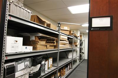 Compact Mobile Evidence Storage at Durham County Courthouse, North Carolina
