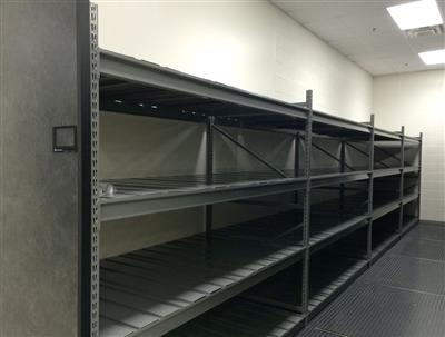 RaptorRAC™ Wide Span Shelving Being Used for Long-term Evidence Storage at a Police Department