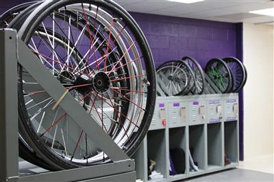 Wheelchair Basketball Freestyle Lockers