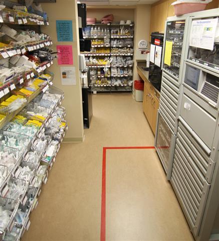 Medical Supply Storage Wyoming Medical Center
