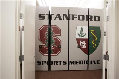 Stanford sports medicine sports equipment mobile storage system