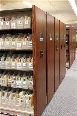 McKillop Library Mobile Storage