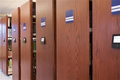 Salve Regina University McKillop Library Mobile Storage with Touch Technology Control