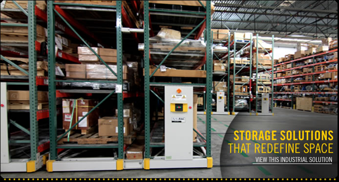 Learn more about our industrial racking, industrial storage racks and pallet rack system solutions