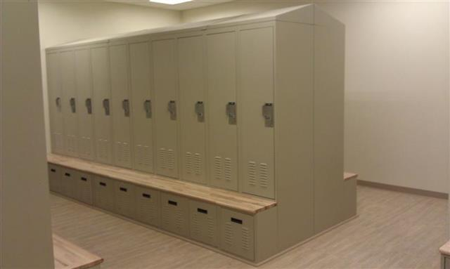 Minanda woodworking supplies las vegas for Built in lockers