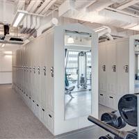 Locker Room Storage at Salt Lake City Public Safety Building