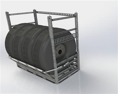 Optional extenders availabe for Wheel Rack SharkCage