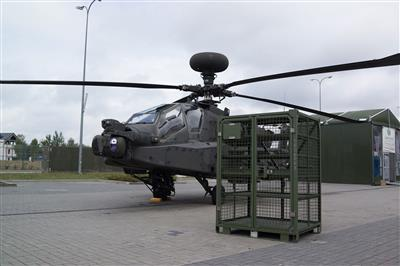 Tactical locker for equipment storage by air transportation