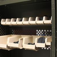 UWR with bin shelving