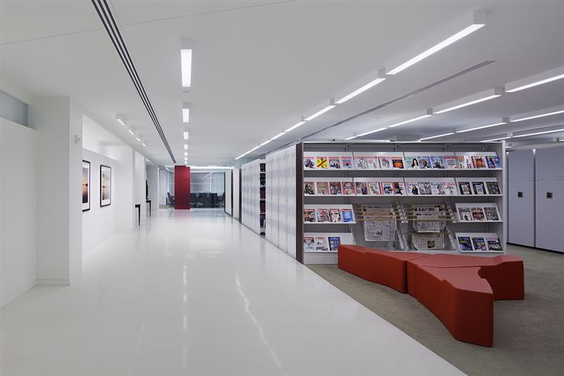 Contemporary Legal Library Design using Powered High Density Mobile