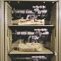 Night Vision Optics Storage in the Military