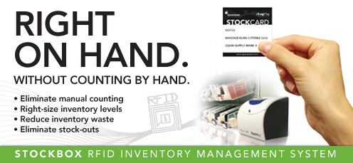 Stockbox, RFID, inventory management, Logitag