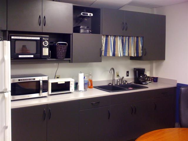 Office Break Room And Kitchen Storage Patterson Pope
