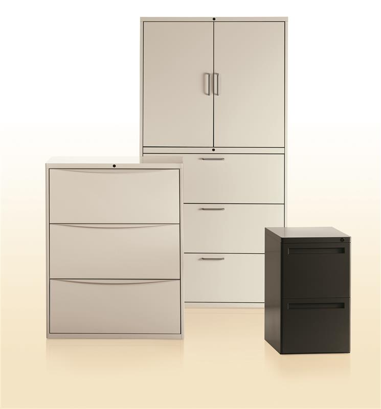 activestor lateral file cabinets spacesaver corporation rh spacesaver com file cabinet storage solutions file cabinet with printer storage